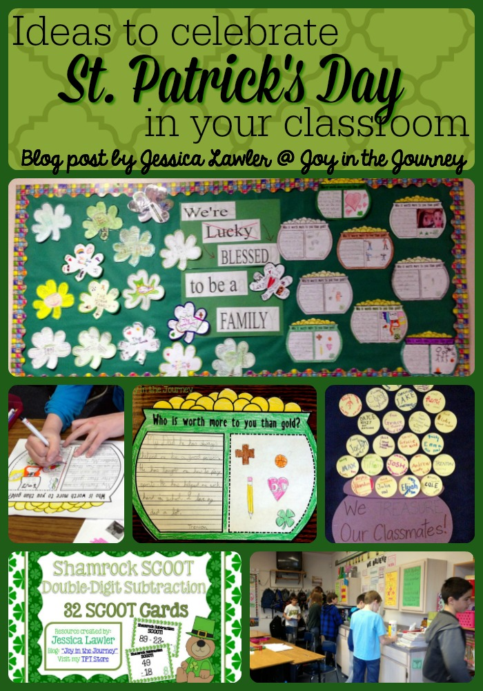 Looking for FUN & ENGAGING St. Patrick's Day activities to use in your upper elementary classroom? Check out this blog post, chocked full of fun ideas - most of them free! Plan a St. Patrick's Day your students will not forget!