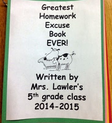 The Greatest Homework Excuse Book Ever