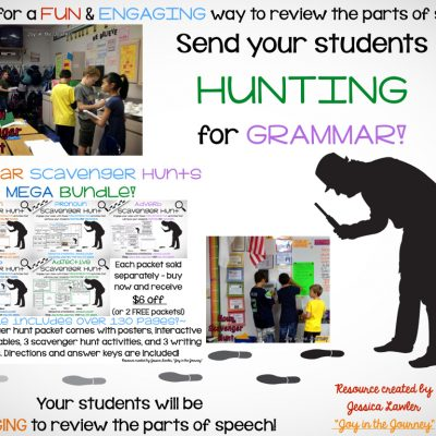 Send Your Students HUNTING for GRAMMAR!