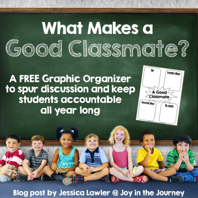 What Makes a Good Classmate? FREE Graphic Organizer