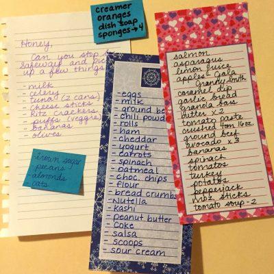 *FREE* Editable Go-To Grocery List for Busy Teachers