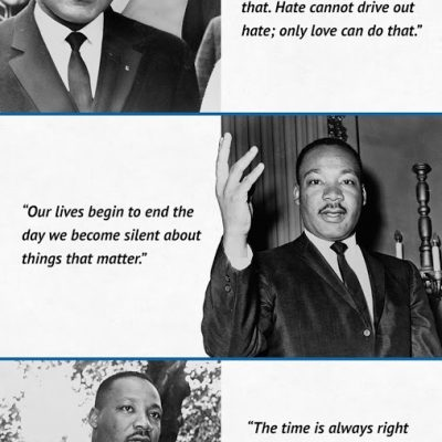 Martin Luther King Quotes & Activities