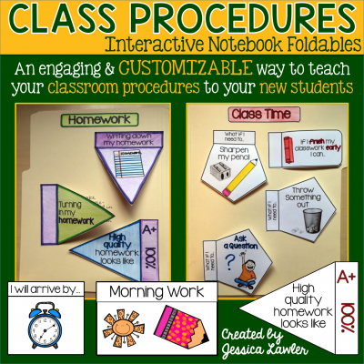 Planning and Introducing Class Procedures