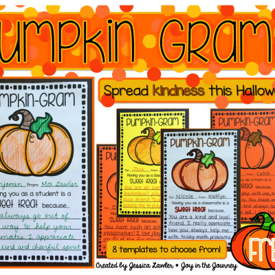 Spread Kindness with FREE Pumpkin Grams