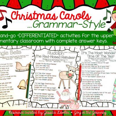 Christmas Carols…Grammar-Style!
