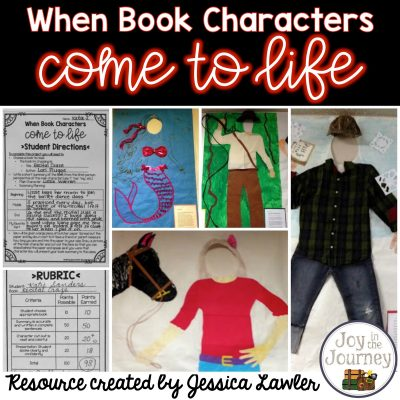 When Book Characters Come to Life