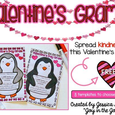 FREE Valentine's Day Grams