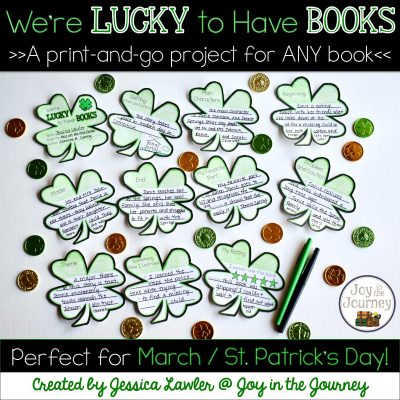 We're LUCKY to Have Books – Project for ANY Book