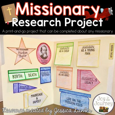Interactive Research Project: Missionaries