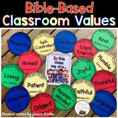 Bible-Based Classroom Values