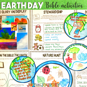 Earth Day Bible Activities for Kids