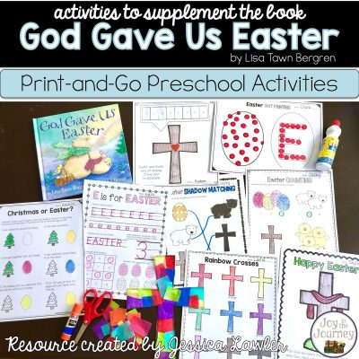God Gave Us Easter – Preschool Activities