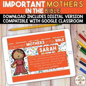 Mothers in the Bible Digital Activities