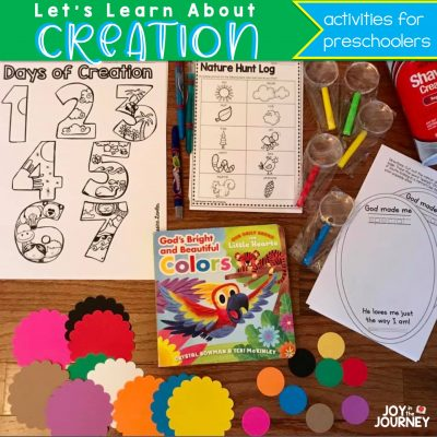 God's Creation: Preschool Bible Learning Day