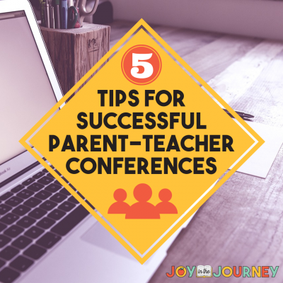 5 Tips for Successful Parent-Teacher Conferences