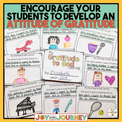 Helping Students to Develop an Attitude of Gratitude