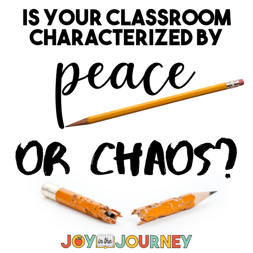 6 Ways to Bring Peace to Your Classroom