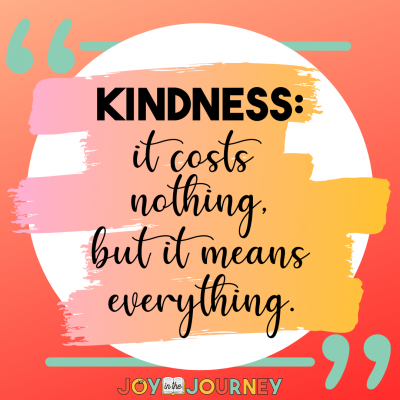 Spreading Kindness in Your Classroom & School