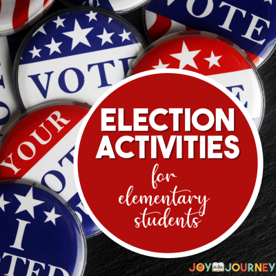 Voting Activities for the Elementary Classroom