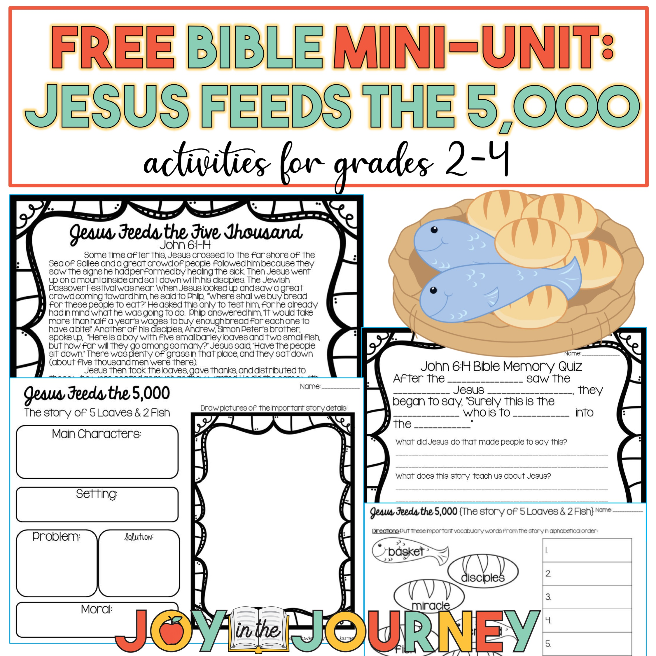 FREE Jesus Feeds the 5,000