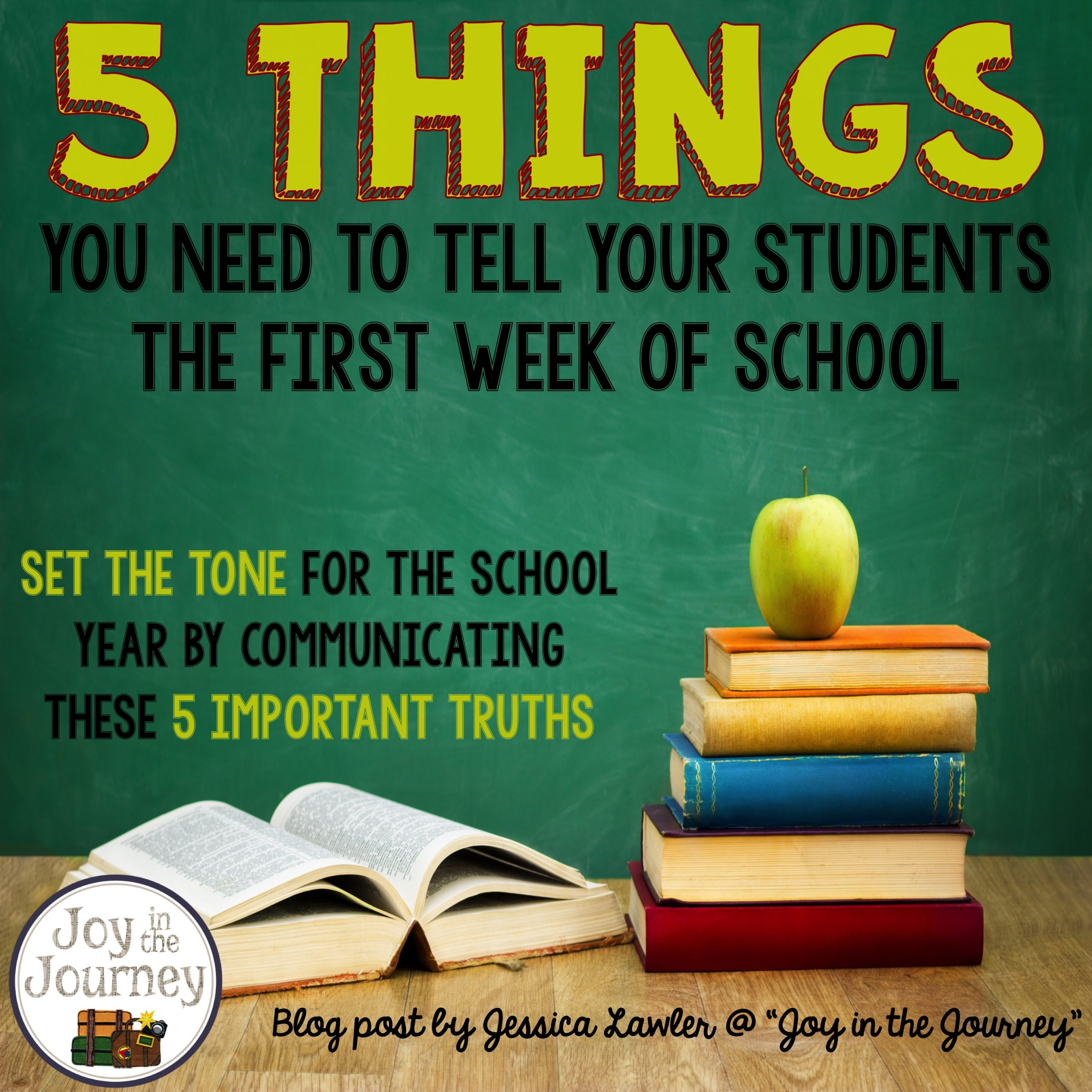 5 Back to School Posters