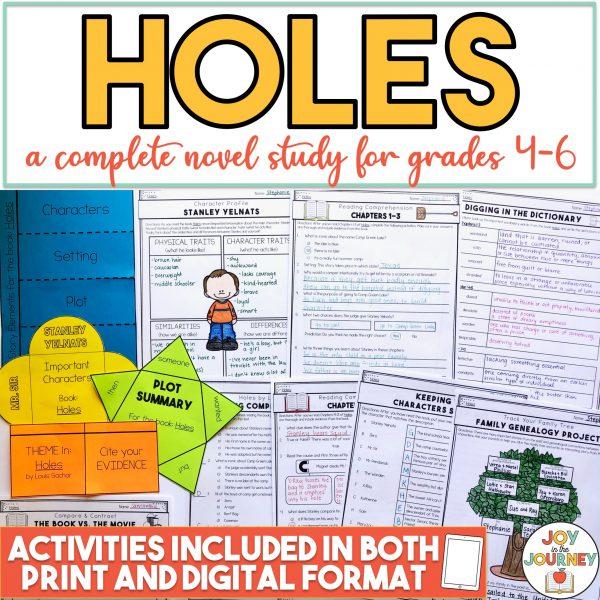 Holes Novel Study