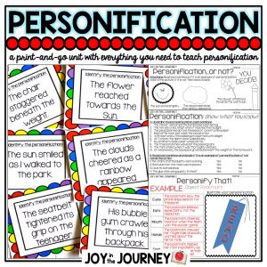 Personification Activities