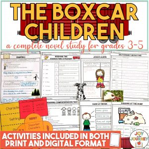 The Boxcar Children Novel Study